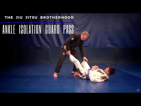 Ankle Isolation Guard Pass | Jiu-Jitsu Brotherhood Image 1