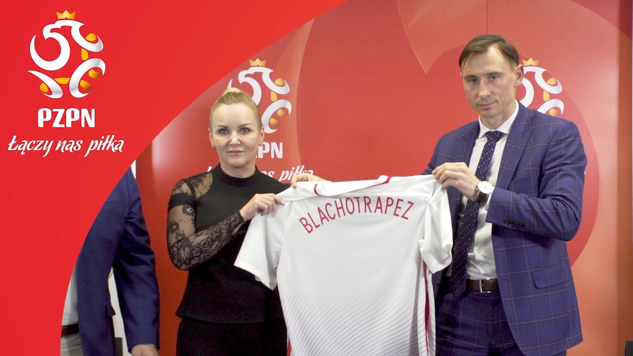 Blachotrapez oficjalnym partnerem reprezentacji Polski
