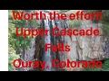 hiking upper cascade falls ouray colorado