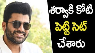 Special Set For Sharwanand - Sudheer varm film | Sharwanand | Sudheer varma | Top Telugu Media