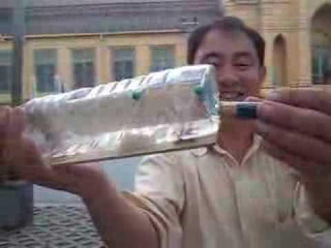 bangkok eco rat friendly trap made with a plastic bottle. Black Bedroom Furniture Sets. Home Design Ideas