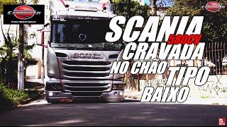 SCANIA 580cv ARRASTANDO PARACHOQUE NO CHÃO