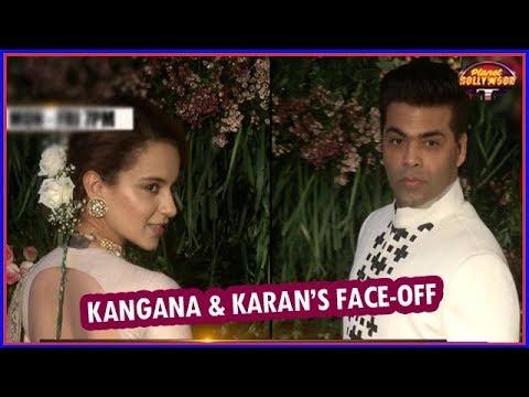 Kangana Ranaut Avoids A Face-off With Karan Johar   Bollywood News