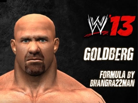 WWE '13 Goldberg CAW Formula by bhangra22man