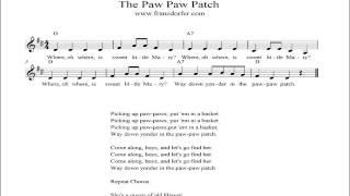 The Paw Paw Patch - instrumental