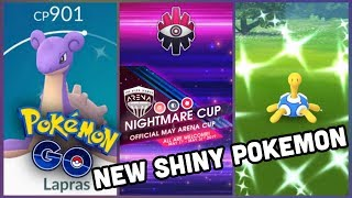 SHINY LAPRAS & SHUCKLE NOW IN POKEMON GO | NIGHTMARE CUP FOR MAY ANNOUNCED + SOME RECOMMENDATIONS