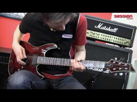 Schecter Hellraiser C-1 Bch video