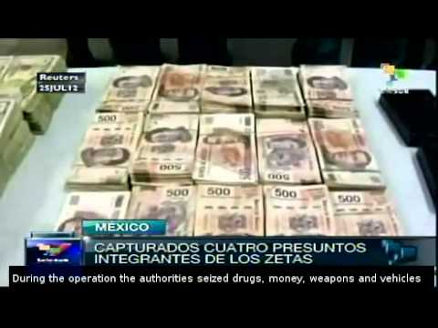 Zetas cartel members arrested in Mexico