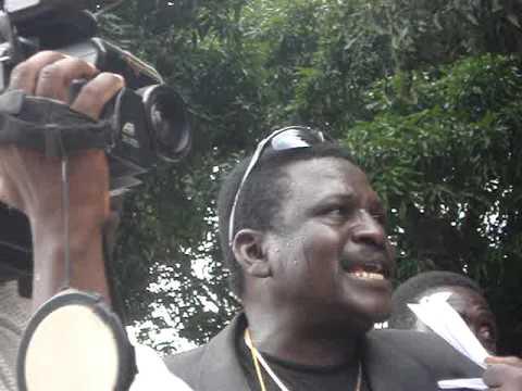 Radio personality in Firou, Benin (West Africa)