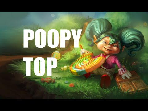 League of Legends - Poppy Top - Full Game Commentary