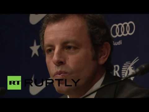 Spain: Barcelona president Sandro Rosell resigns amid Neymar scandal