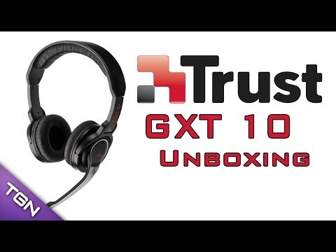 Trust GXT-10 Gamer Headset - Unboxing [HD] [M]