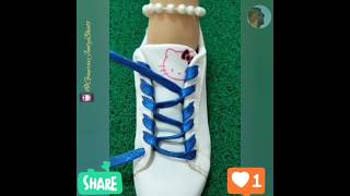 Life Hack - Fancy Shoe Laces    Learn To Be Fashionable