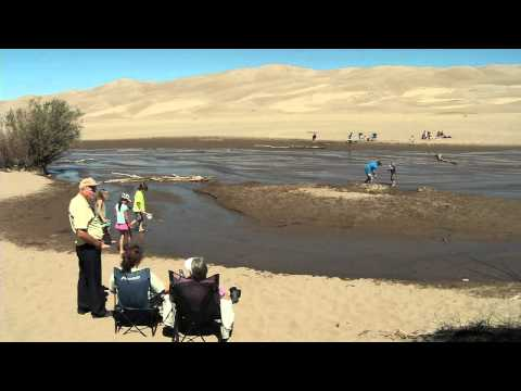 The Great Sand Dunes National Park Getaways - This park is extremely family friendly with great hiking, camping, playing in the sand and nature watching.  The Great Sand Dunes receives Colorado Lottery proceeds for trails, amenities and facilities.