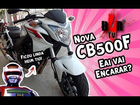 [Motovlog  B4R TV] CB500F # Quinhentinha quente! Eai vai encarar?