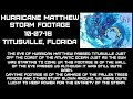 Hurricane Matthew Video Footage of Titusville Florida from 10/07/16. What a Storm!