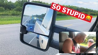 "NORTH CAROLINA STATE COPS PULL OVER ""ILLEGAL"" DURAMAX FOR RIDICULOUS OFFENSE! *Watch Full Video*"