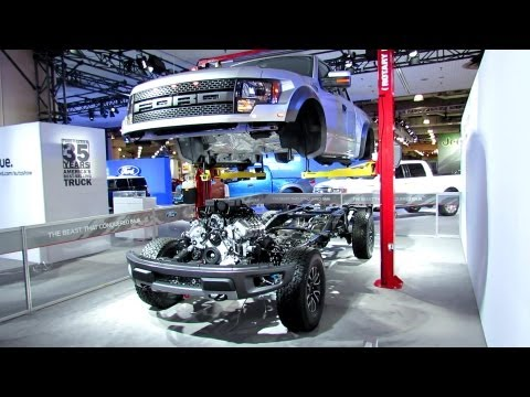 2012 Ford F-150 Raptor SVT Engine, Transmission, Suspension, Steering and  Exhaust walk around