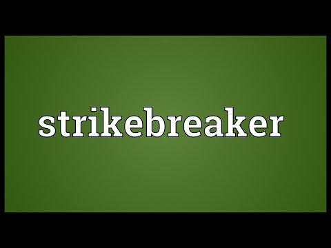 Header of strikebreaker