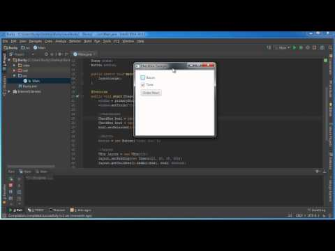 JavaFX Java GUI Tutorial - 11 - CheckBox