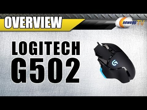 LOGITECH G502 Proteus Core Tunable Gaming Mouse Overview - Newegg TV