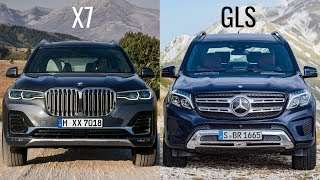 2019 BMW X7 vs Mercedes GLS