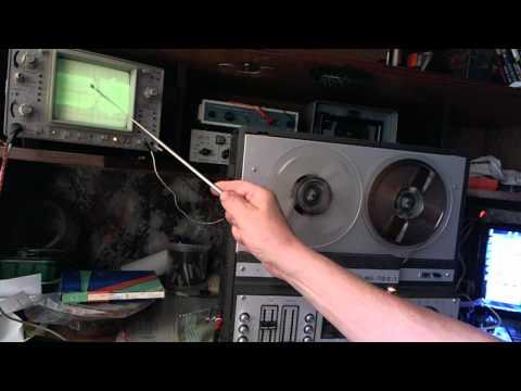 Снятие частотки магнитофона Астра 110 .wmv