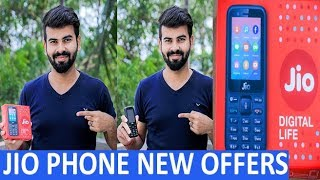 Jio Phone UNBOXING and REVIEW ll Special NEW Jio Phone OFFERS