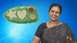 Kambu, Elaneer idly in Tamil | Mallika Badrinath Recipes | Summer Special