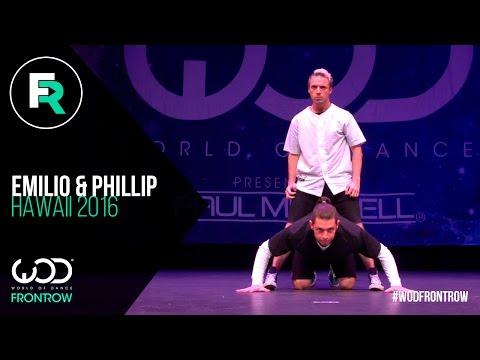 Emilio Dosal & Phillip Chbeeb | FRONTROW | World of Dance Hawaii 2016 | #WODHI16