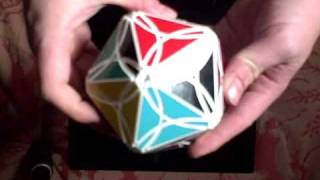 The Radiolarian, Custom Rubik's-like Twisty Puzzle Icosahedron