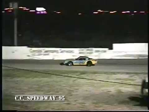 Decades of Asphalt | Super Stocks  Feature | C.C. Speedway | 1995 #4