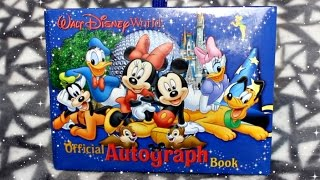 My Disney World Autograph Book 2015
