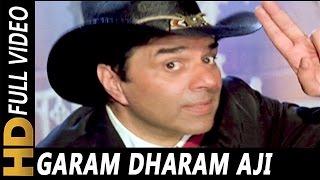 Garam Dharam Aji Kaisi Sharam | Anu Malik, Abhijeet | Tahalka 1992 Songs | Dharmendra