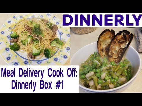 Meal Delivery Cook Off:  Dinnerly Box #1 | Most Affordable Box