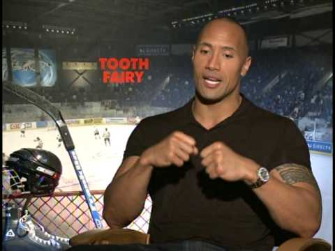 TOOTH FAIRY Interviews with Dwayne The Rock Johnson and Julie Andrews