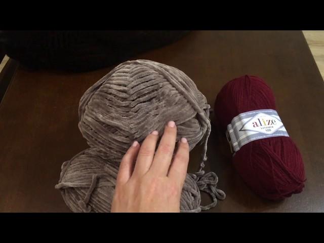 Покупка необычной пряжи/снимать ли мк?/вязание спицами