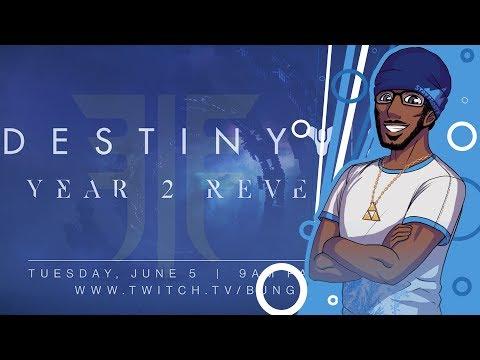 Destiny 2: Forsaken | Countdown To The Bungie DLC Reveal Livestream! thumbnail