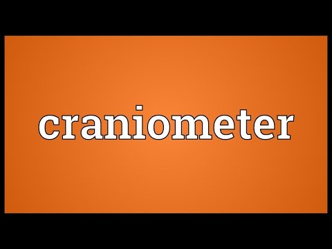 Header of craniometer