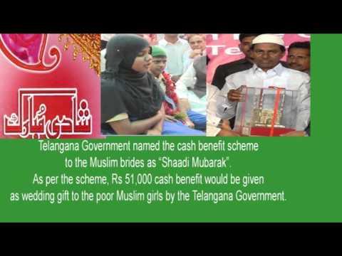 """""""Shaadi Mubarak"""".Scheme for Poor Muslims in Telangana"""