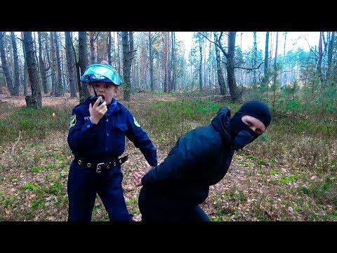ПОЛИЦЕЙСКИЙ против БАНДИТА в Лесу - Даник и Игровой набор Полиции для Детей. Police Toys for Kids