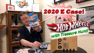 Hot Wheels 2020 E Case Unboxing with Treasure Hunt & New Castings! | Hot Wheels