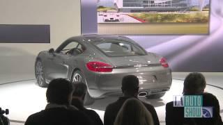 Porsche at the 2012 Los Angeles Auto Show