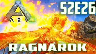 Let's Play ARK: Survival Evolved (Single Player Ragnarok)Ep.26-Phoenix Taming & Testing With Fire