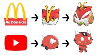 What If Famous Logos Were Pokemon Evolutions ?