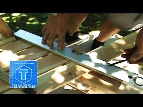 Bank Selber Bauen | Handwerker-Tipps Für Den Garten