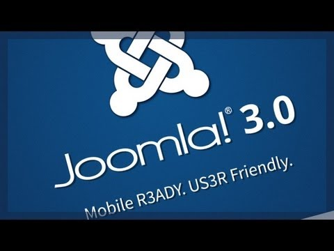 Joomla! 3.0 - Mobile R3ADY. US3R Friendly.