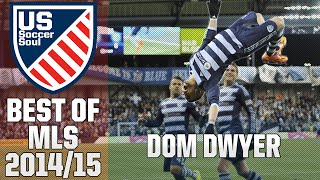 Dom Dwyer ● Skills, Goals, Highlights MLS 2014/15 ● US Soccer Soul | HD