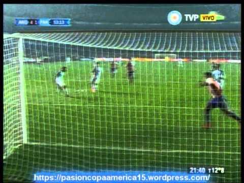 Argentina 6 Paraguay 1 (ADN Radio Chile 91,7) Copa America 2015