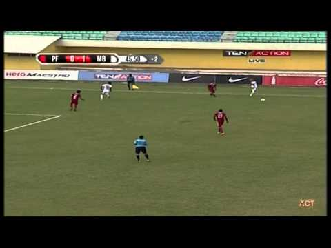 Hero Fed Cup 2014 - 2015 PUNE FC (1) VS MOHUN BAGAN (1) Match Highlights 1-01-2015